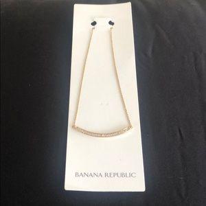 Banana Republic Rhinestone Necklace